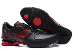 new style d625c 7f2b3 Make yourself look great with a pair of Nike Shox R2 Men Shoes - Black red