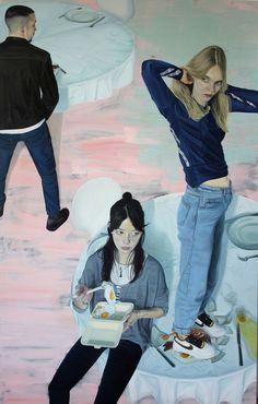 Paintings by Tristan Pigott