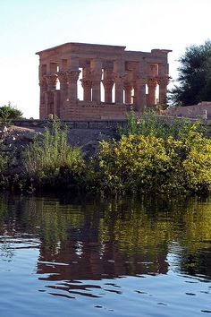 Trajan's Kiosk, temple of Philae, Aswan, Egypt by Sebastià Giralt, via Flickr