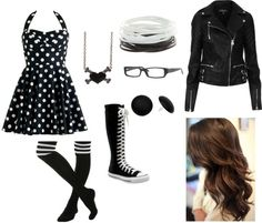"""""""AJ Lee Style"""" by valeria555-1 ❤ liked on Polyvore"""