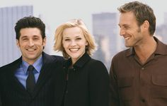 Sweet Home Alabama - Reese Witherspoon is so talented. And Patrick Dempsey is so hot.