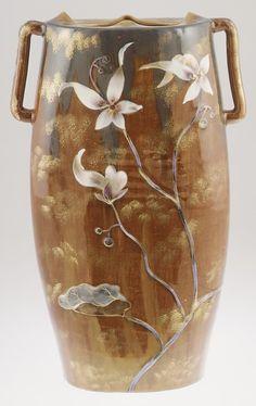 Vase - Emile Gallé, ca. 1885 Galle' More at FOSTERGINGER @ Pinterest