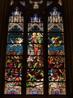 st patricks cathedral new york | New York City, NY: St Patrick's Cathedral (Fifth Avenue): Window of St ...