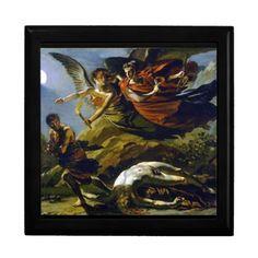Mythology Jewelry Box #Mythology #Mythological #Painting #Art #Vintage #Gift #Keepsake #Trinket #Jewelry #Box