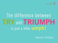 Put a little Umph in your day!!