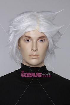 Naruto -- Team 7 (Team Kakashi) - Kakashi Hatake Cosplay Wig