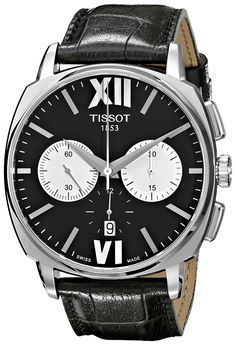 Tissot Men's T0595271605800 T Lord Analog Display Swiss Automatic Black Watch