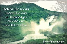 Your knowledge is the biggest treasure you have!