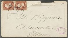 """Boston Public Library:   Creator: Dickinson, Emily, 1830-1886  Recipient: Higginson, Thomas Wentworth, 1823-1911""  via Flickr"