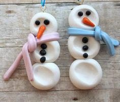 10 Christmas Ornaments Kids Can Make| BlogHer - I am actually going to make some of these. Yes! Really!