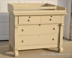 Dresser To Changing Table