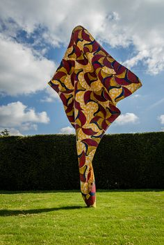 Yinka Shonibare African Batik Sculpture - Yorkshire Sculpture Park-2 | Flickr - Photo Sharing!