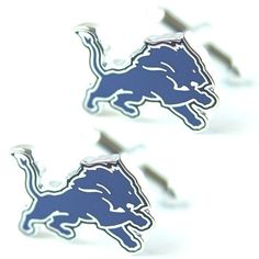 Detroit Lions Logo Cuff Links