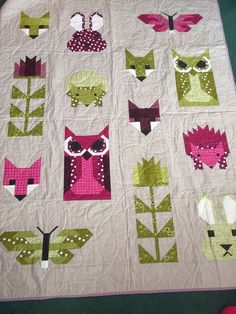 Image result for fancy forest quilt pattern