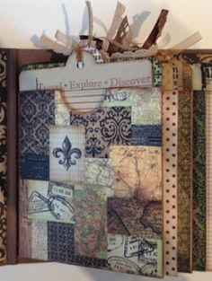 Artsy Albums Scrapbooking Kits and Custom Designed Scrapbook Albums by Traci Penrod: Capture Your Travel Memories