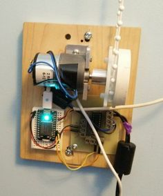 Alarm Clock that Opens Window Blinds