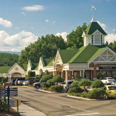 Tanger Outlet Mall. Gatlinburg, TN