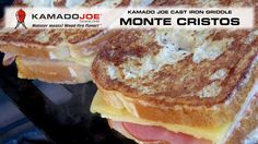 Kamado Joe Monte Cristo Sandwiches