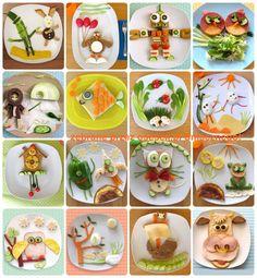 fun snack ideas | food art