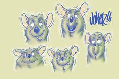 Ratin, #JKR #Character Design