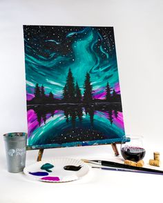 Join us at Pinot's Palette - Des Moines on Sat Aug 2019 for Aurora Reflections. Strange Weather, Fanart, Fire Rainbow, Natural Phenomena, Event Calendar, Drawing, Night Skies, Wallpaper, Memes