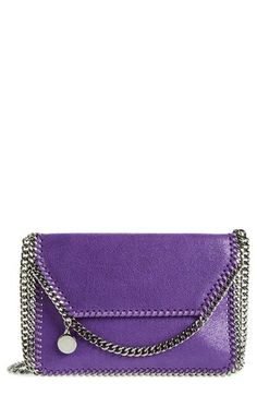 Stella McCartney 'Mini Falabella' Shaggy Deer Crossbody Bag available at #Nordstrom