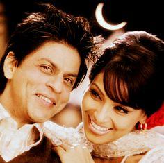 Shahrukh Khan and Bipasha Basu in Phir Milenge Chalte Chalte song - Rab Ne Bana Di Jodi (2008)