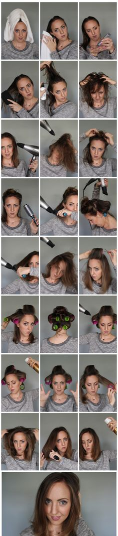 Easy Blow Out Tutorial for Short Hair - works great for short to shoulder length hair! #HeartMyHair #shop