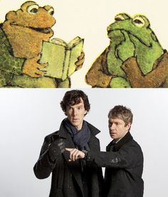 Frog and Toad vs. Sherlock and Watson