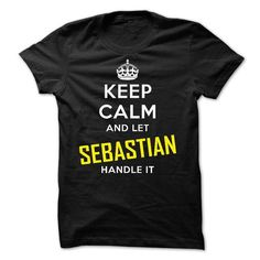 KEEP CALM AND LET SEBASTIAN HANDLE IT! NEW - #gift box #cool gift. WANT THIS => https://www.sunfrog.com/Names/KEEP-CALM-AND-LET-SEBASTIAN-HANDLE-IT-NEW.html?68278