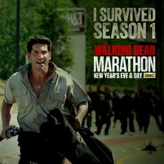 I survived season 1 marathon twd