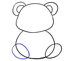 How to Draw a Panda. There are many ways to draw a panda. In this lesson, we will learn step-by-step examples drawing a panda quickly Cartoon Panda, Cute Cartoon, Panda Drawing, Easy Drawings Sketches, Animal Drawings, Cute Comics, Animal Design