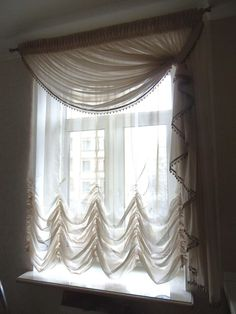 Best Shabby Chic Curtains Bedroom Window Treatments Ideas - Home decor interests Curtains With Blinds, Shabby Chic Curtains, Curtains Bedroom, Drapes Curtains, Curtains, Window Treatments Living Room, Curtains And Draperies, Curtain Decor, Window Treatments Bedroom