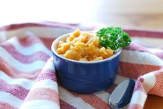 Chipotle Cauliflower Sweet Potato Mash - cauliflower seems to be the IT veggie for me these days.