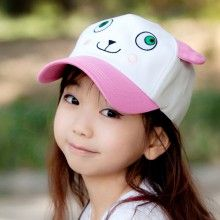 Sweet embroidered sheep baseball cap for kids