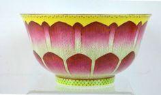 Guangxu Mark B&W Lotus Chinese Porcelain Bowl Lot 34