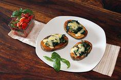 Rezept: Ofenkartoffeln mit Mangold-Käse-Haube und Tomatensalat | Projekt: Gesund leben | Blog über Ernährung, Bewegung und Entspannung