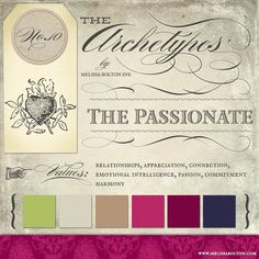 the passionate archetype in branding #passionatearchetype #archetypalbranding #archetypes