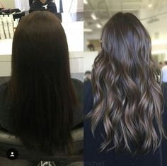 10 Ideas for Balayage on Straight Hair – Stylish Hairstyles Brown Hair Balayage, Balayage Brunette, Hair Color Balayage, Hair Highlights, Ombre Hair, Color Highlights, Dark Brunette Hair, Brown Blonde Hair, Medium Blonde