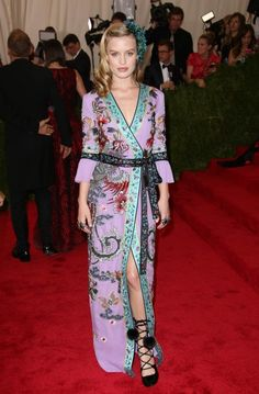 Georgia May Jagger In Gucci At The Met Gala 2015