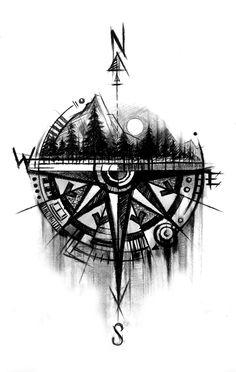 Clock Tattoo Design, Compass Tattoo Design, Lion Tattoo Design, Sketch Tattoo Design, Abstract Tattoo Designs, Tattoo Sleeve Designs, Tattoo Designs Men, Tattoo Sketches, Tattoo Drawings