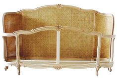 <p>This classic shell bed is handmade in Italy of solid Birch. The style dates from 1700s France and this is a wonderful reproduction.</p> <p>Available painted and upholstered or unfinished.</p> <p>Your choice of fabric or cane in both the headboard and footboard.</p> <p>King Size / Painted And Upholst</p> <p>King Size / Unfinished Cane</p> <p>King Size / Unfinished Plain<&#x...