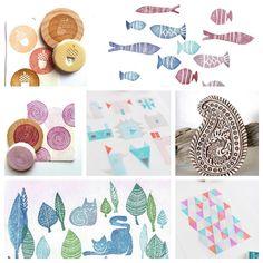 ¡Muy buenos días! ¿Acabas de empezar con el carvado de sellos y necesitas inspiración? Visita hoy el blog; te doy muchas mchas ideas . ¡Qu...