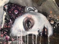 """Surfacing"" paintings by artist Kim Johnson"