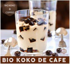Nata de coco de Cafe / Coffee Nata de coco