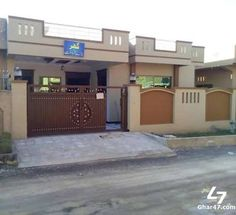 Single story home designs in pakistani