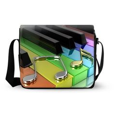 bdcb168280 Style Cool piano Oxford Fabric Messenger Cross Body Shoulder Bag Travel Bag    Be sure to