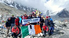 Earth's Edge are the only adventure travel company in the world who send an international guide and doctor on all trips while keeping group sizes small Small Group Tours, Small Groups, Adventure Travel Companies, Mother Goddess, Rivers, Nepal, Trek, Scenery, Mountain