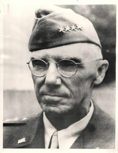 1946- Probably the last photo made of U.S. General Joseph Stilwell, taken a few days before he entered Letterman General Hospital.