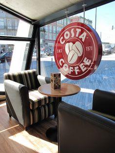 #Sinalética Costa Coffee by #Vinilconsta